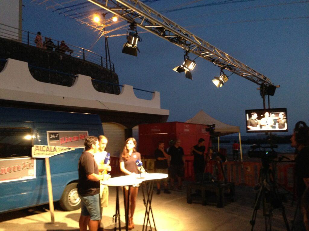 Livestream fro Alcala 2014
